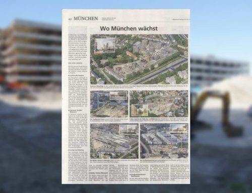 Die aktuell größten Wohnbauprojekte in München – Wir sind dabei